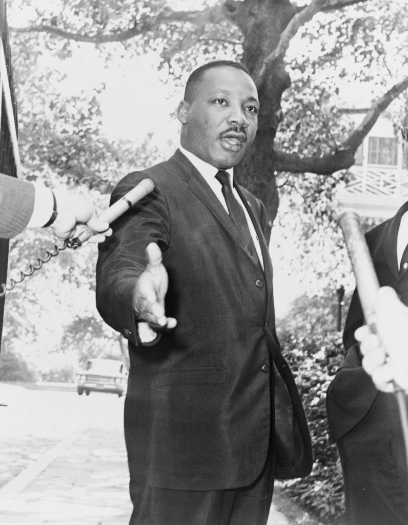 Martin Luther King Being Interviewed Hate cannot Drive out hate